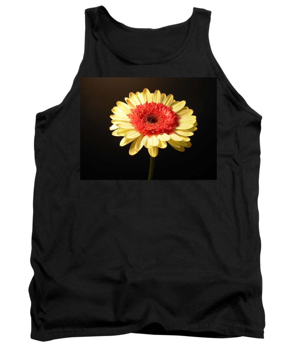 Gerbera Photographs Tank Top featuring the photograph 2984 by Kimberlie Gerner