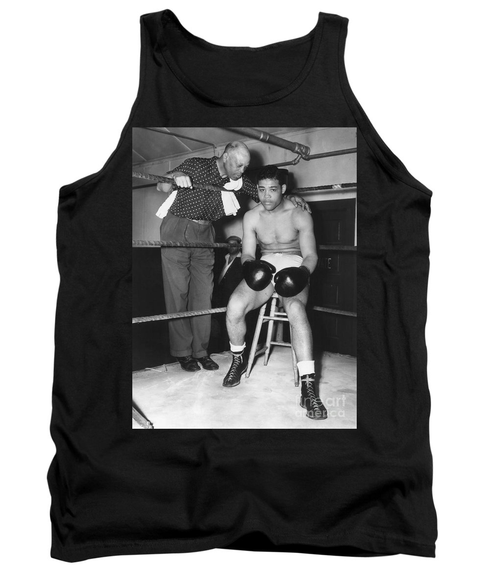 1938 Tank Top featuring the photograph Joe Louis (1914-1981) by Granger