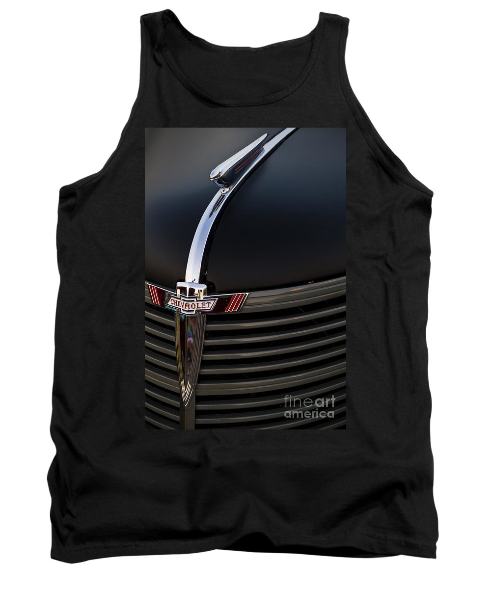 Classic Tank Top featuring the photograph '38 Chevy by Dennis Hedberg