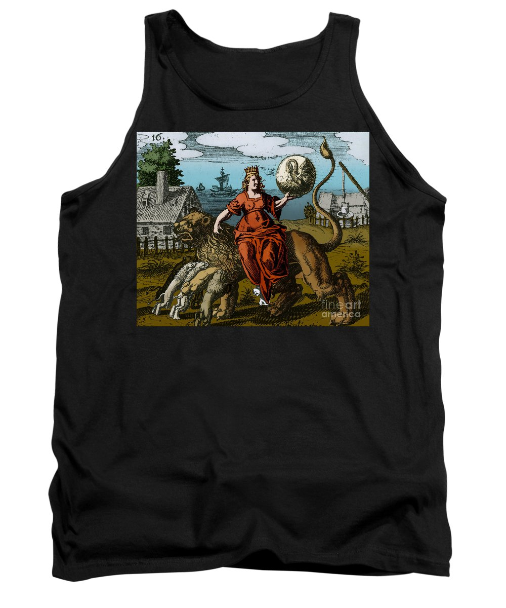 Color Tank Top featuring the photograph Alchemy Illustration by Science Source