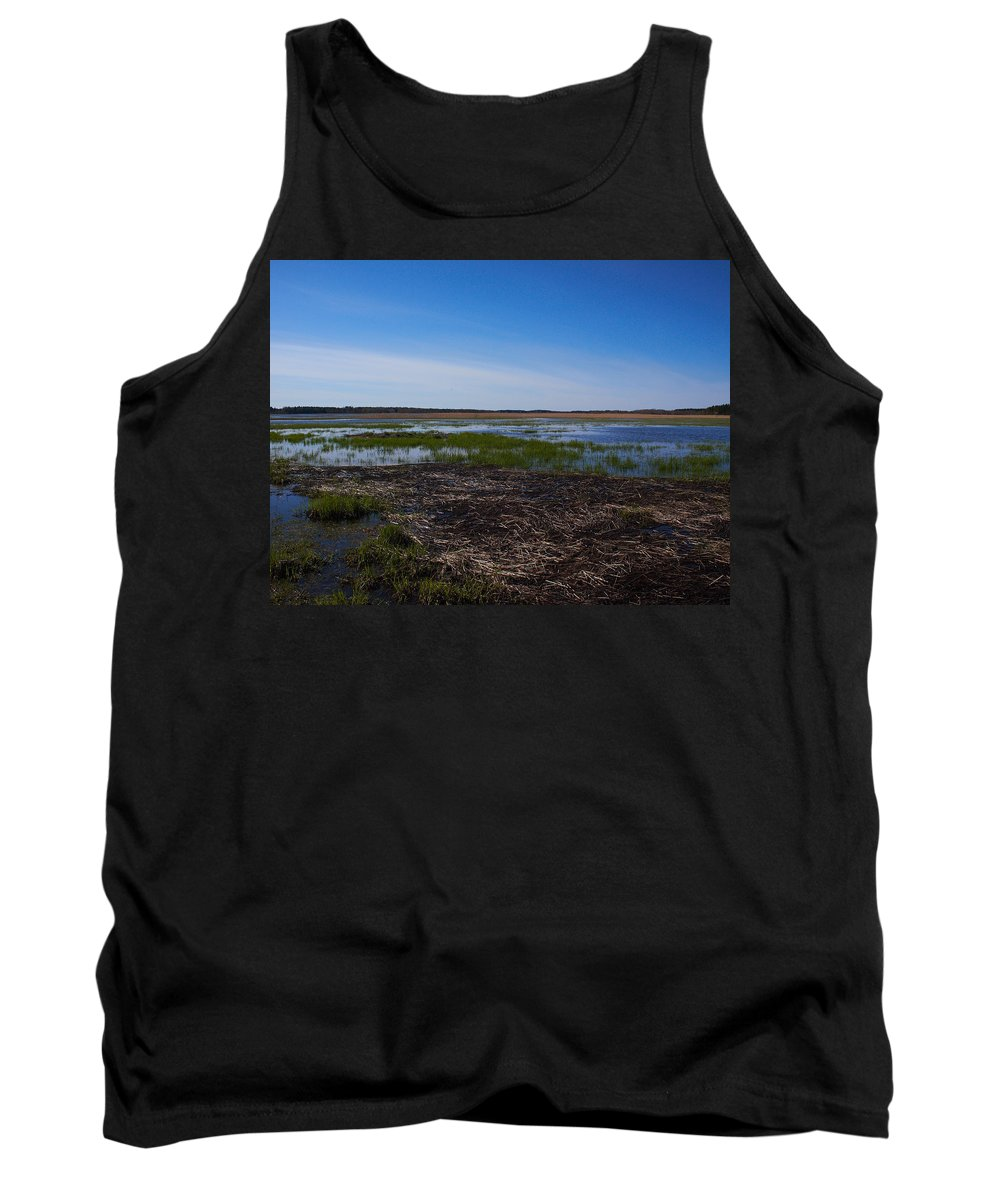 Lehtokukka Tank Top featuring the photograph Puurijarvi by Jouko Lehto