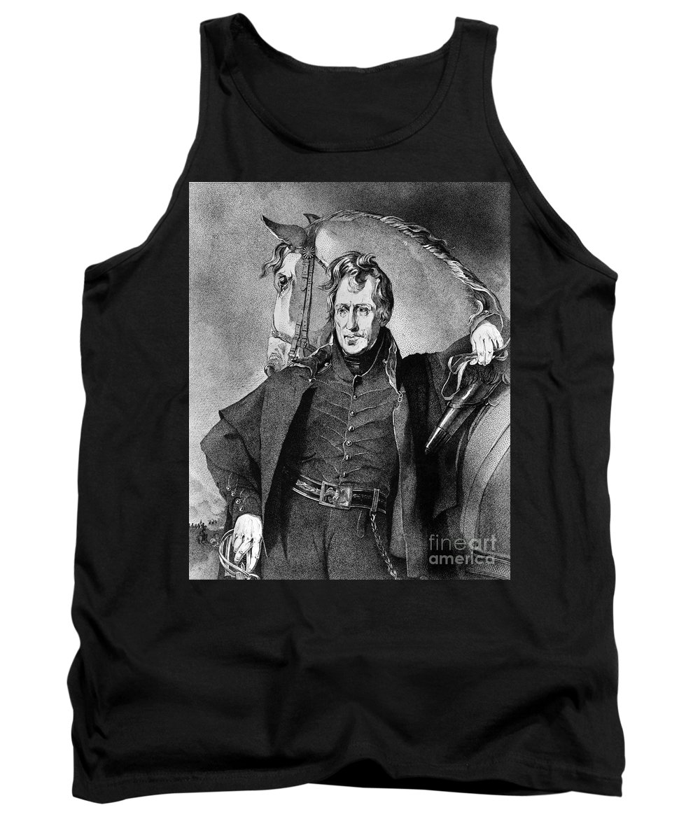 1820 Tank Top featuring the photograph Andrew Jackson (1767-1845) by Granger