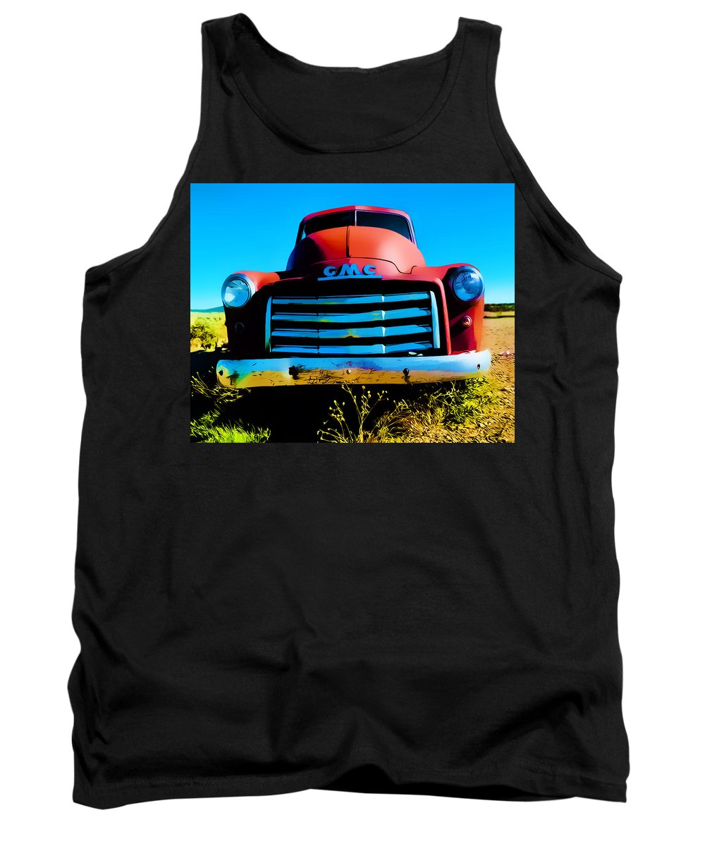 Truck Tank Top featuring the photograph Another Time by Terry Fiala