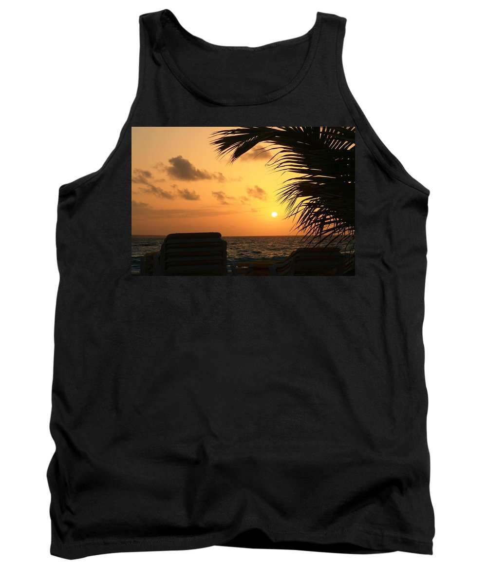 St. Maarten Tank Top featuring the photograph A Beautiful Morning by Catie Canetti