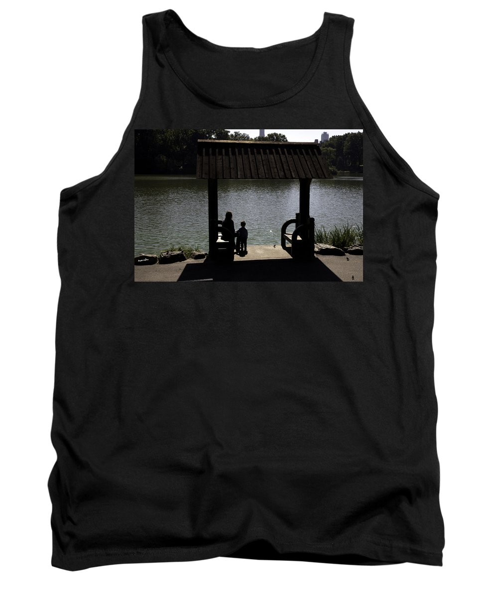 Mother Tank Top featuring the photograph A Moment In Time by Madeline Ellis