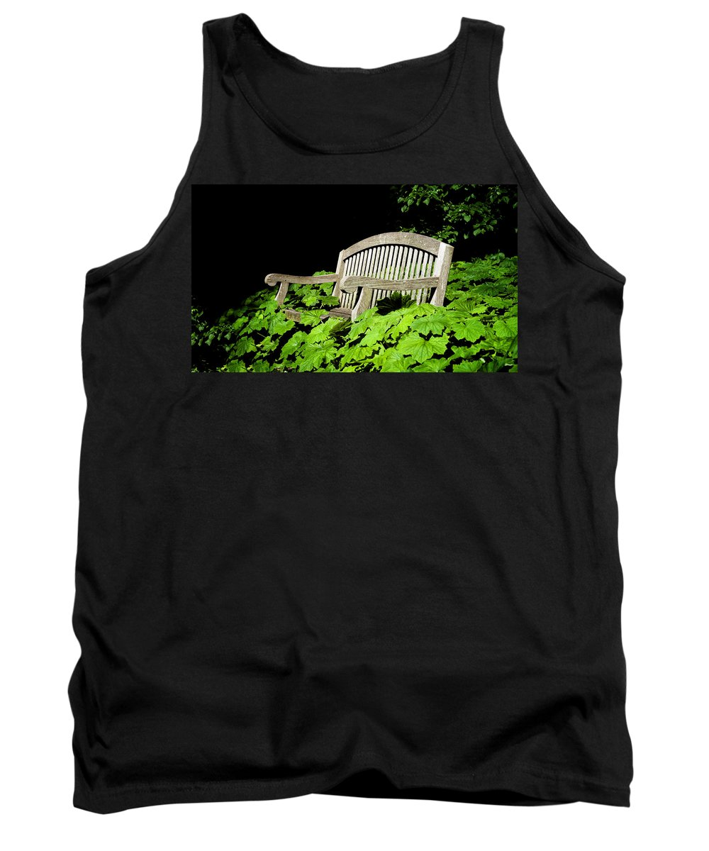 A Place To Rest Tank Top featuring the photograph A Place To Rest by Bill Cannon