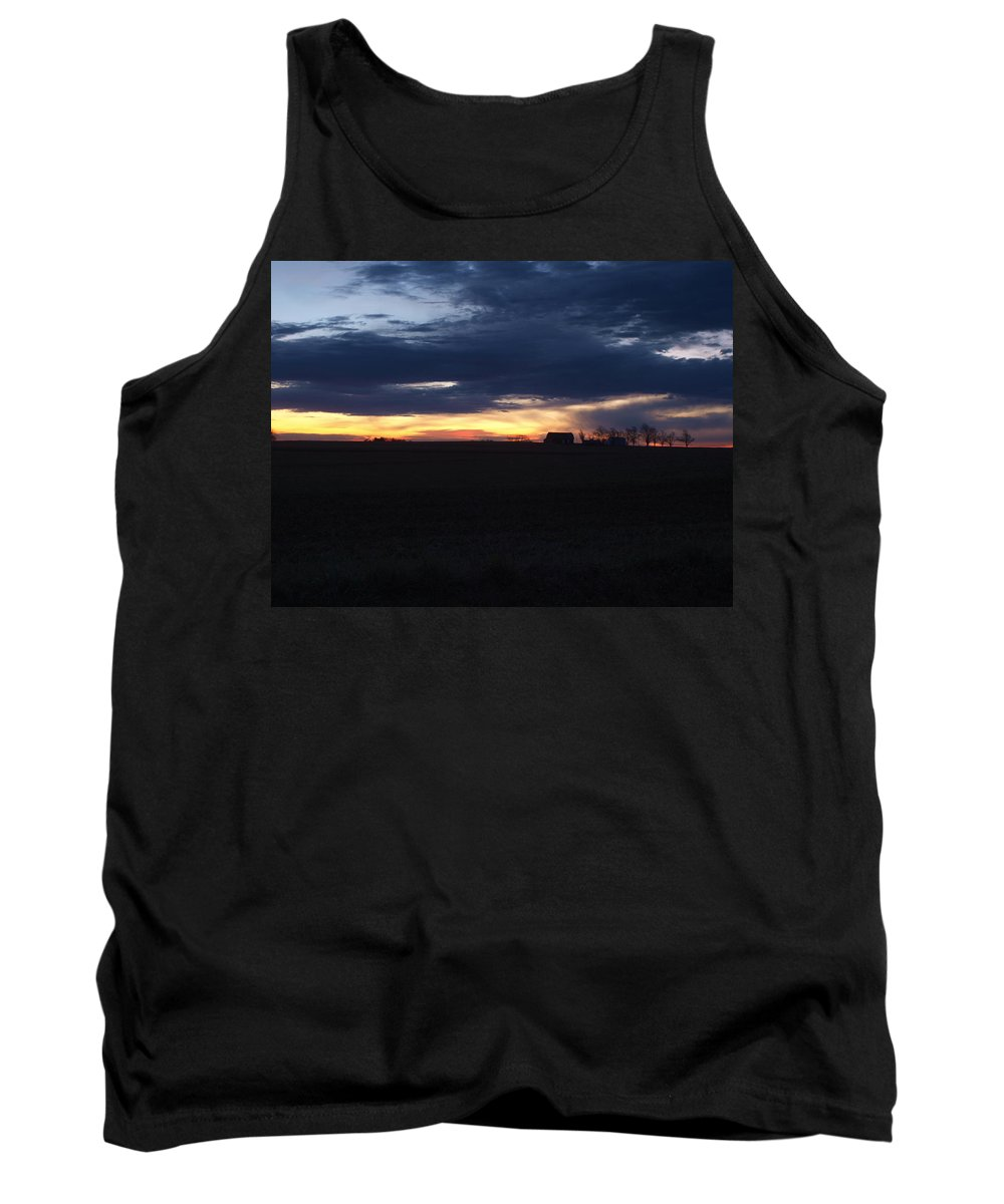 Amish Tank Top featuring the photograph Amish Sunrise by Joshua House