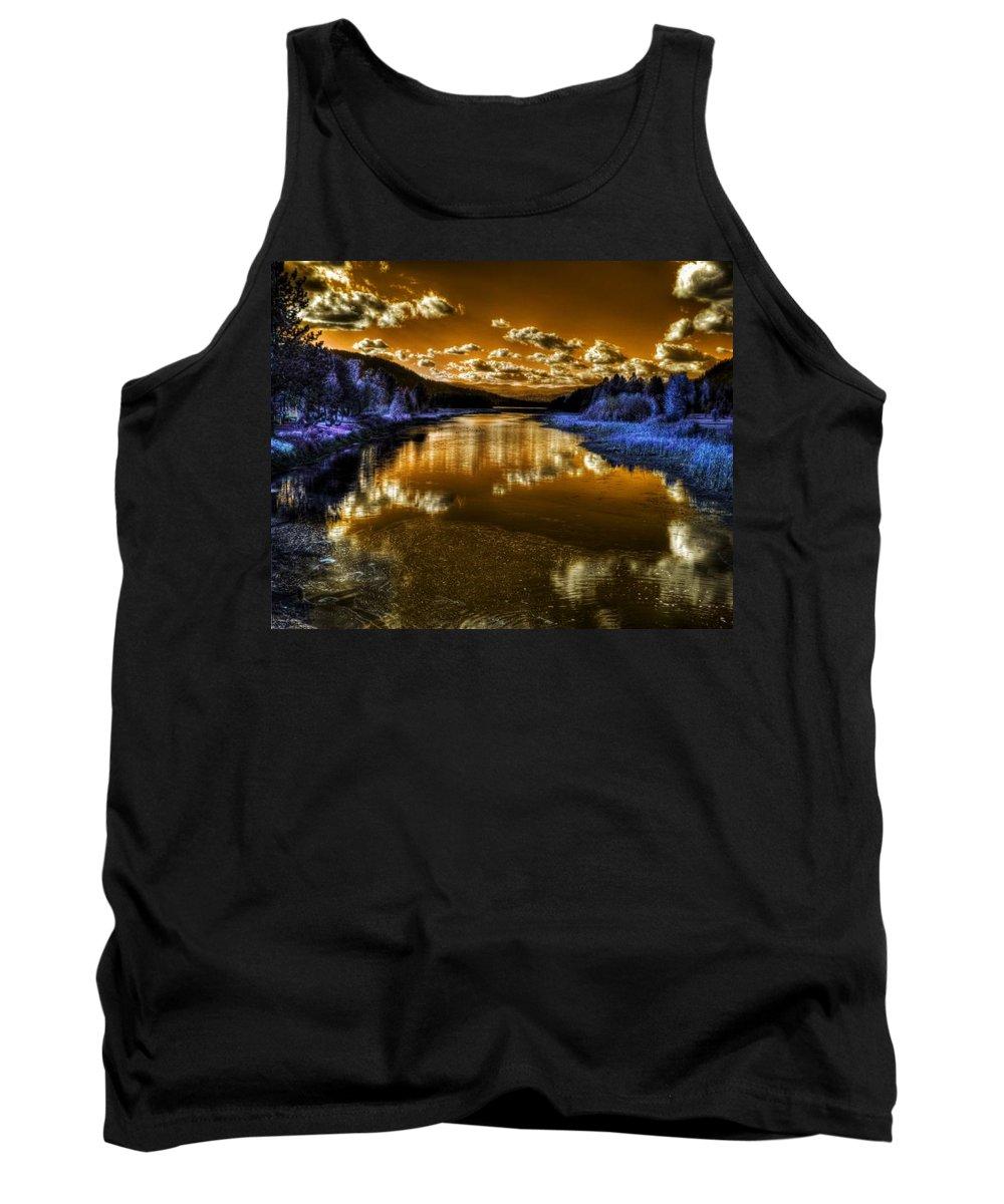 Digital Fantasy Tank Top featuring the photograph An Idaho Fantasy 2 by Lee Santa