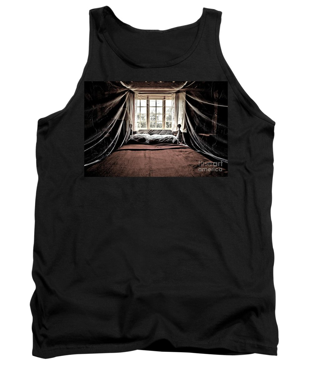 Bed Tank Top featuring the photograph Antique Luxury by Adam Jewell