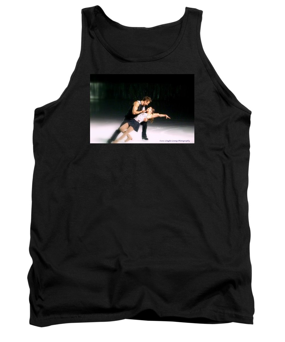 Action Photograph Tank Top featuring the photograph Aspects Of Love by Lingfai Leung