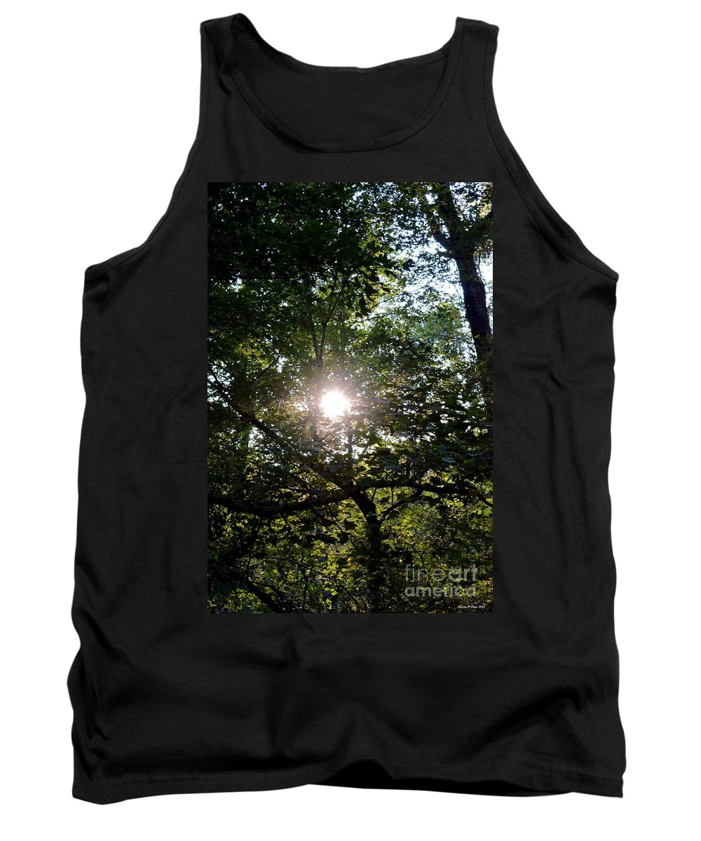 At Last Light Tank Top featuring the photograph At Last Light by Maria Urso