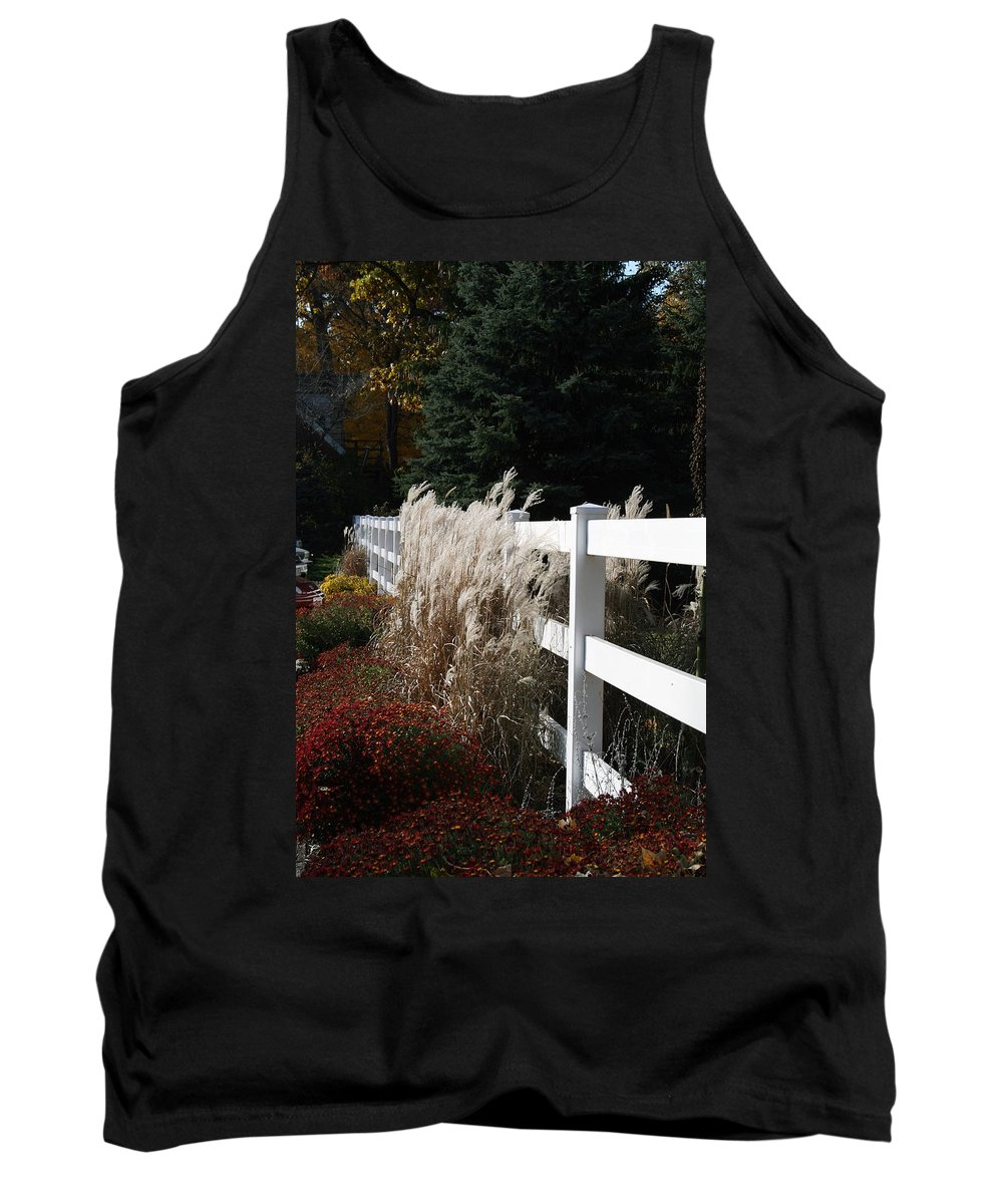 Nature Tank Top featuring the photograph Autumn Is In The Air by Kay Novy