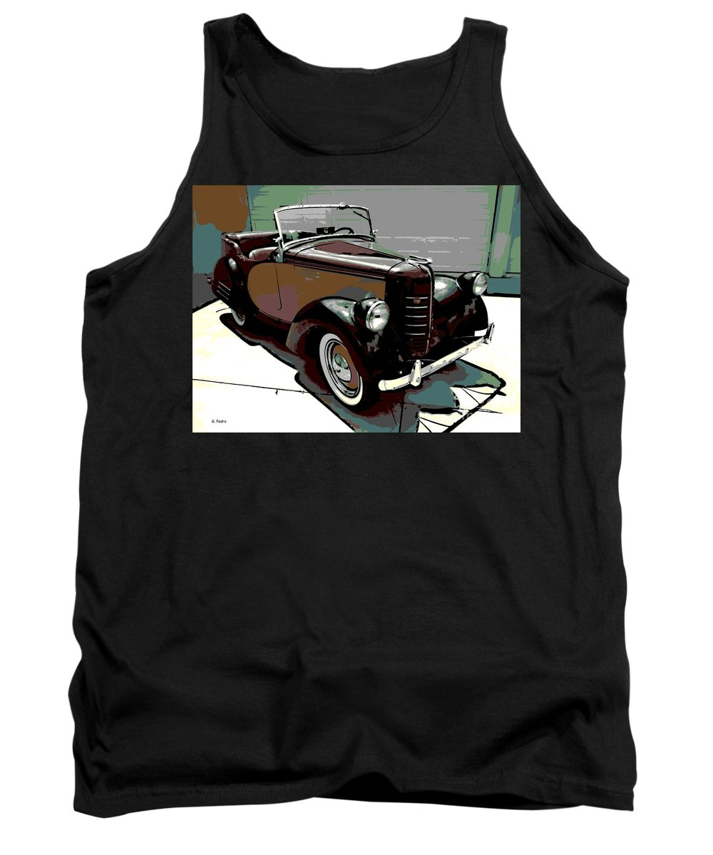 American Tank Top featuring the photograph Bantam Speedster by George Pedro