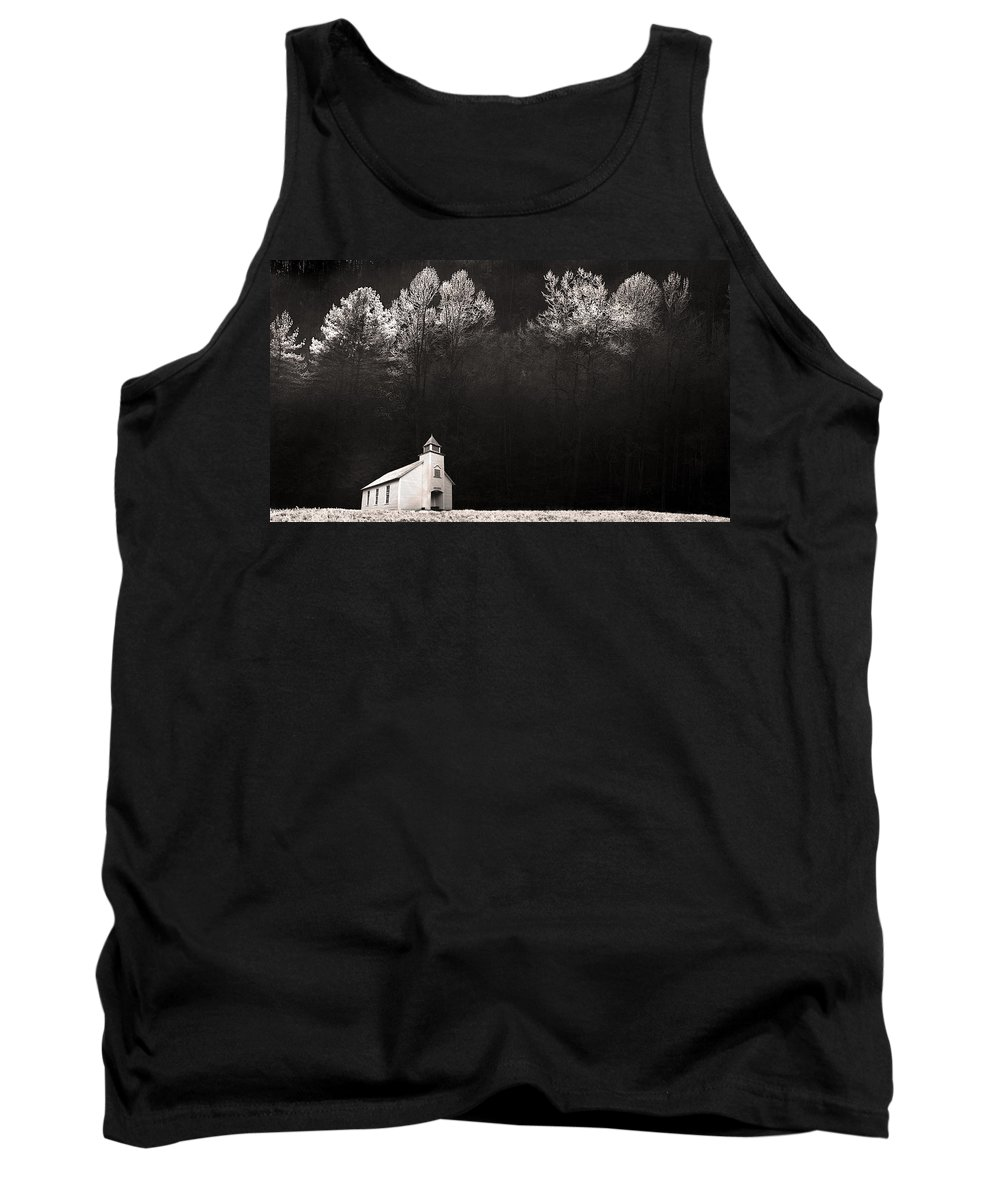 Landscape Tank Top featuring the photograph Be Still And Know That I Am God by Gray Artus