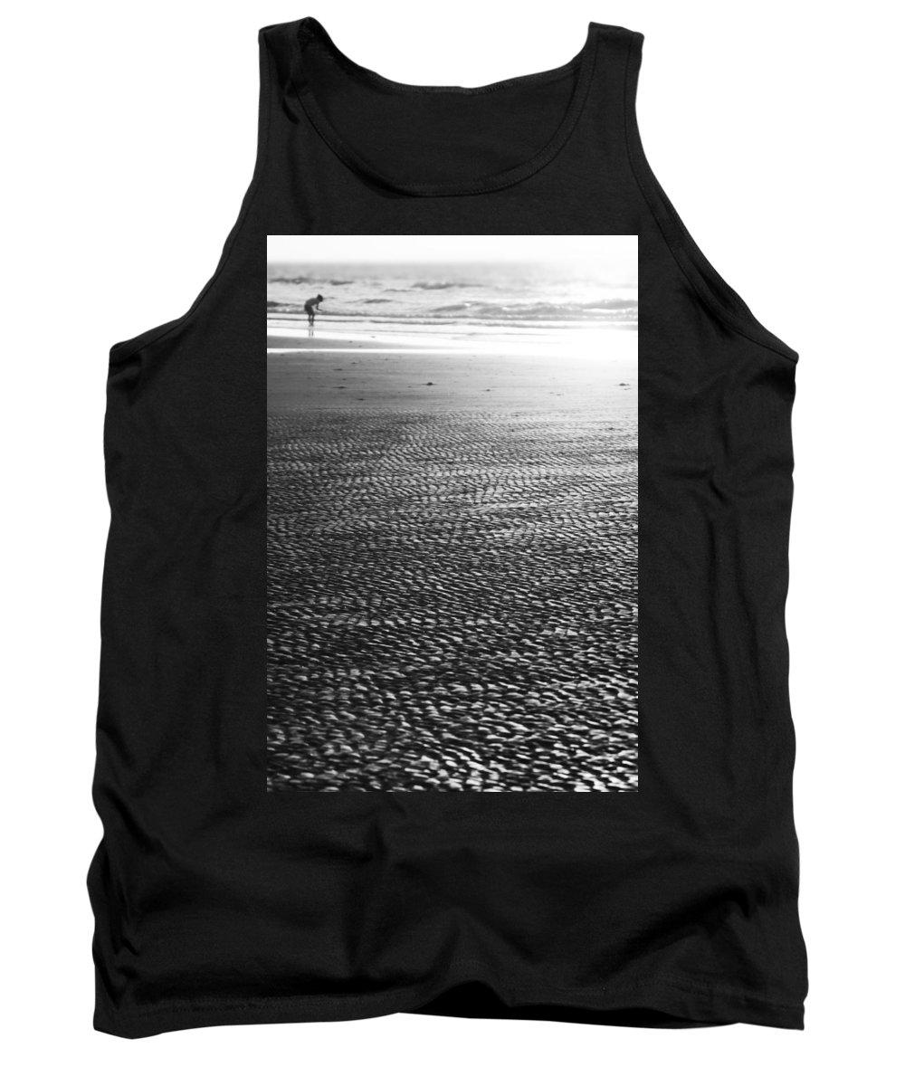 Beach Tank Top featuring the photograph Beach Play by Douglas Barnard