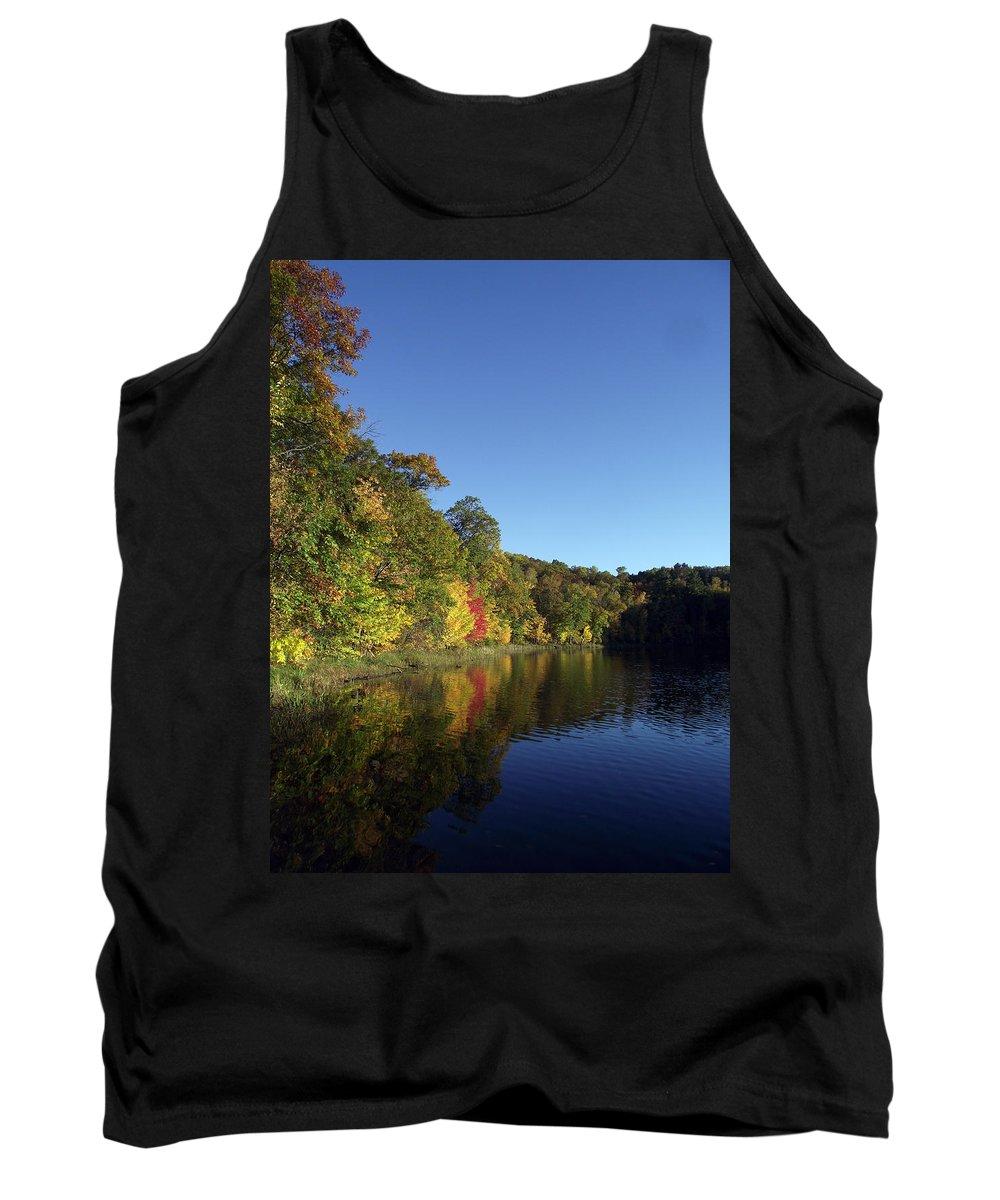 Lake Tank Top featuring the photograph Beauty Lake by Brenda Hagenson