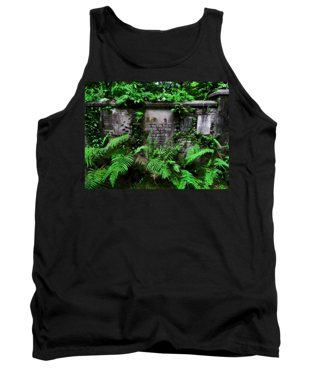 Beneath This Stone Tank Top featuring the photograph Beneath This Stone by Steve Taylor