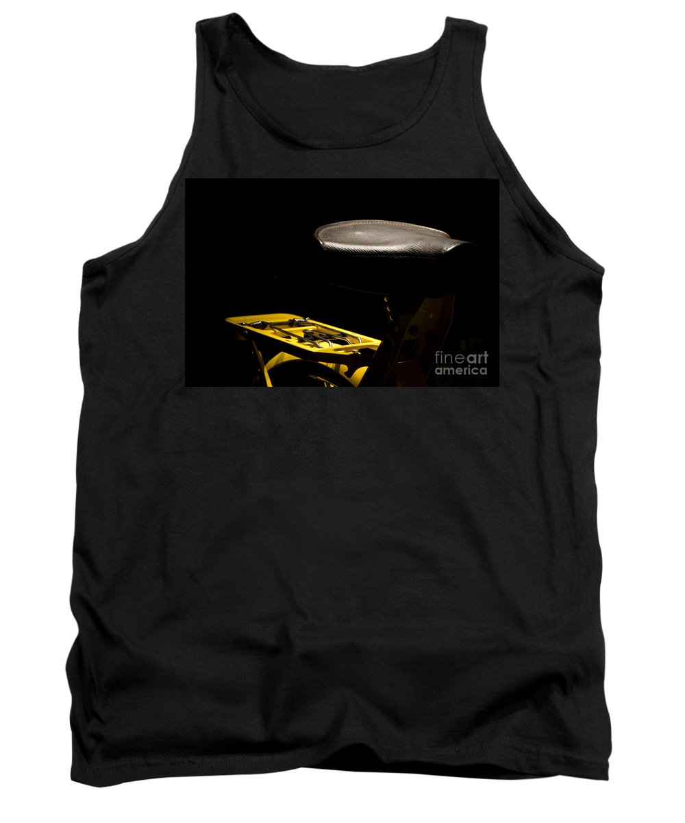 Bicycle Tank Top featuring the photograph Bicycle by Mats Silvan