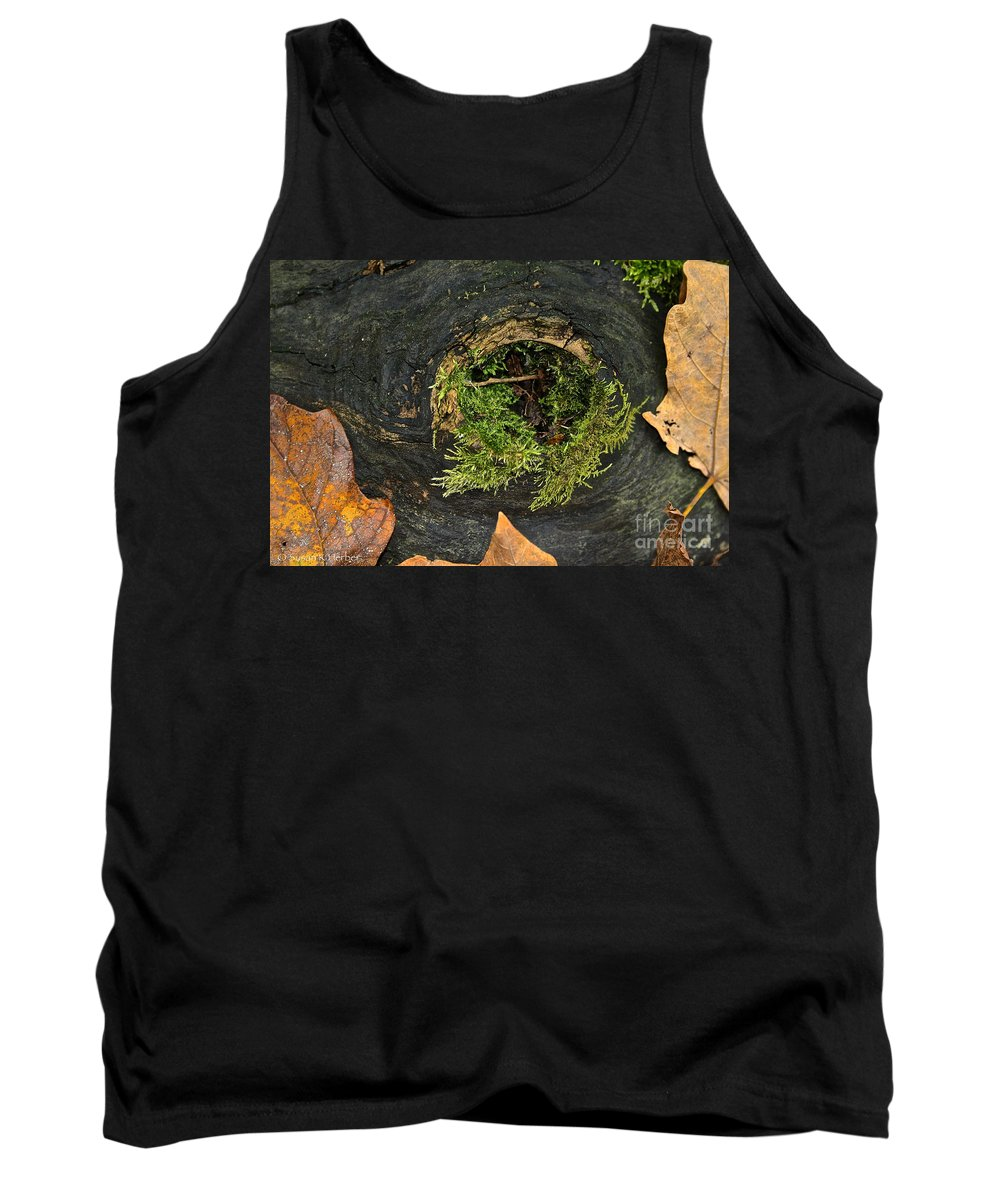 Landscape Tank Top featuring the photograph Black Hole Life by Susan Herber
