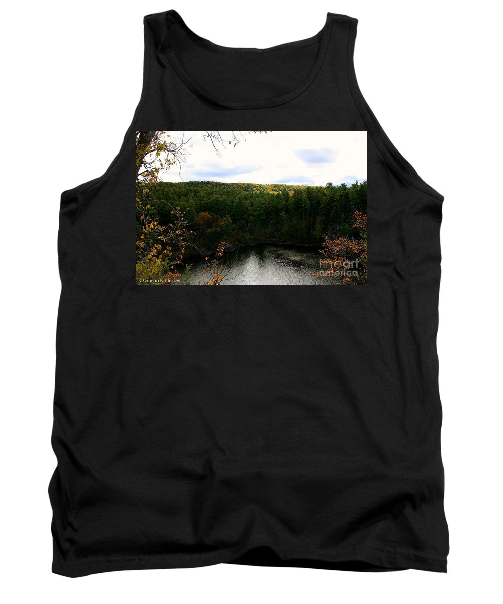 Landscape Tank Top featuring the photograph Bluff by Susan Herber