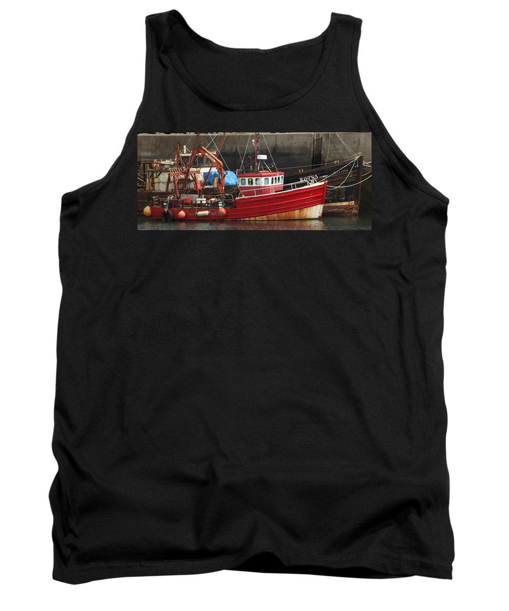 Boat Tank Top featuring the photograph Boat 0001 by Carol Ann Thomas