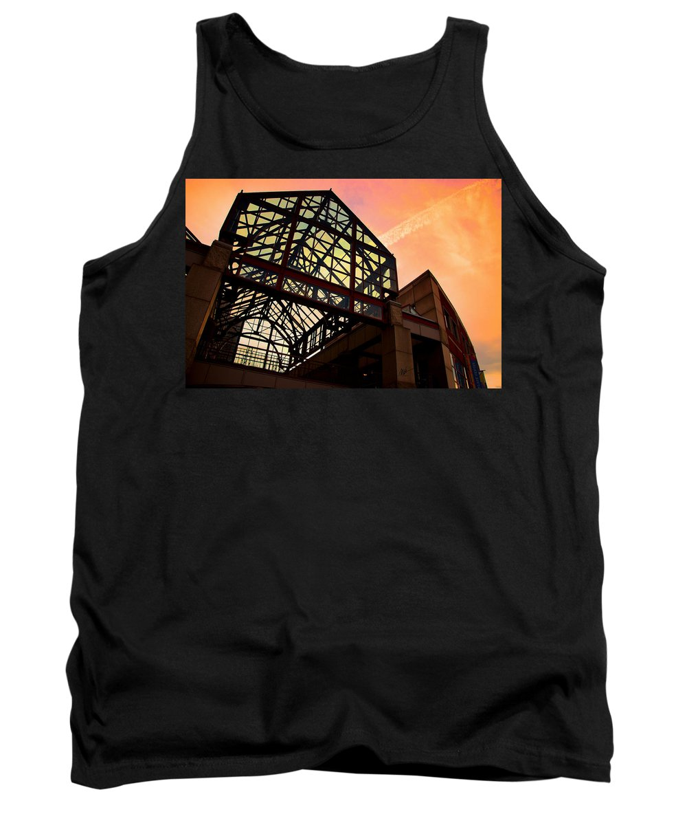 Boston Tank Top featuring the photograph Boston - Faneuil Hall Market Place by Mark Valentine