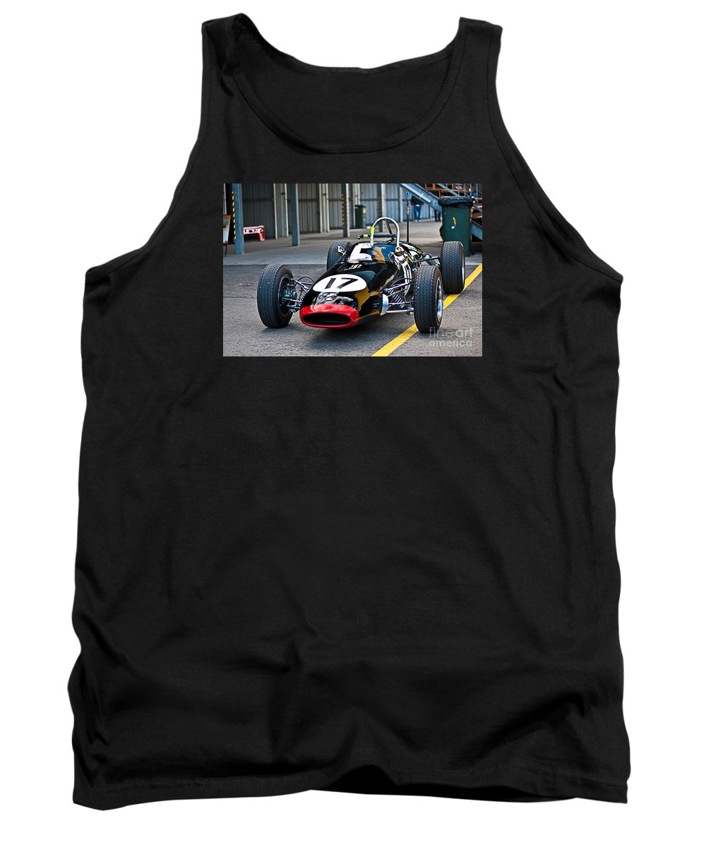 Brabham Tank Top featuring the photograph Brabham Bt6 Front View by Stuart Row