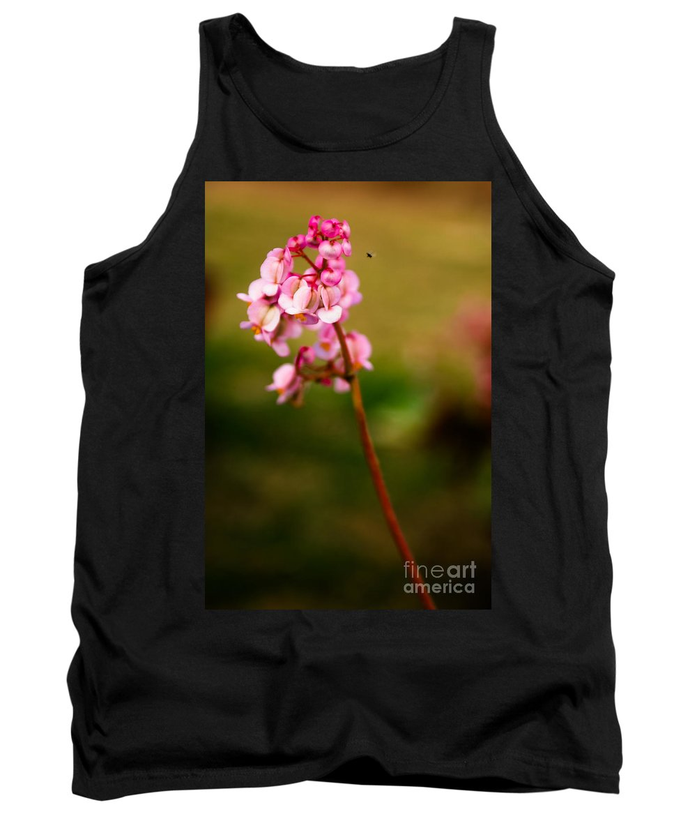 Flower Tank Top featuring the photograph Bug And Bud Love by Syed Aqueel