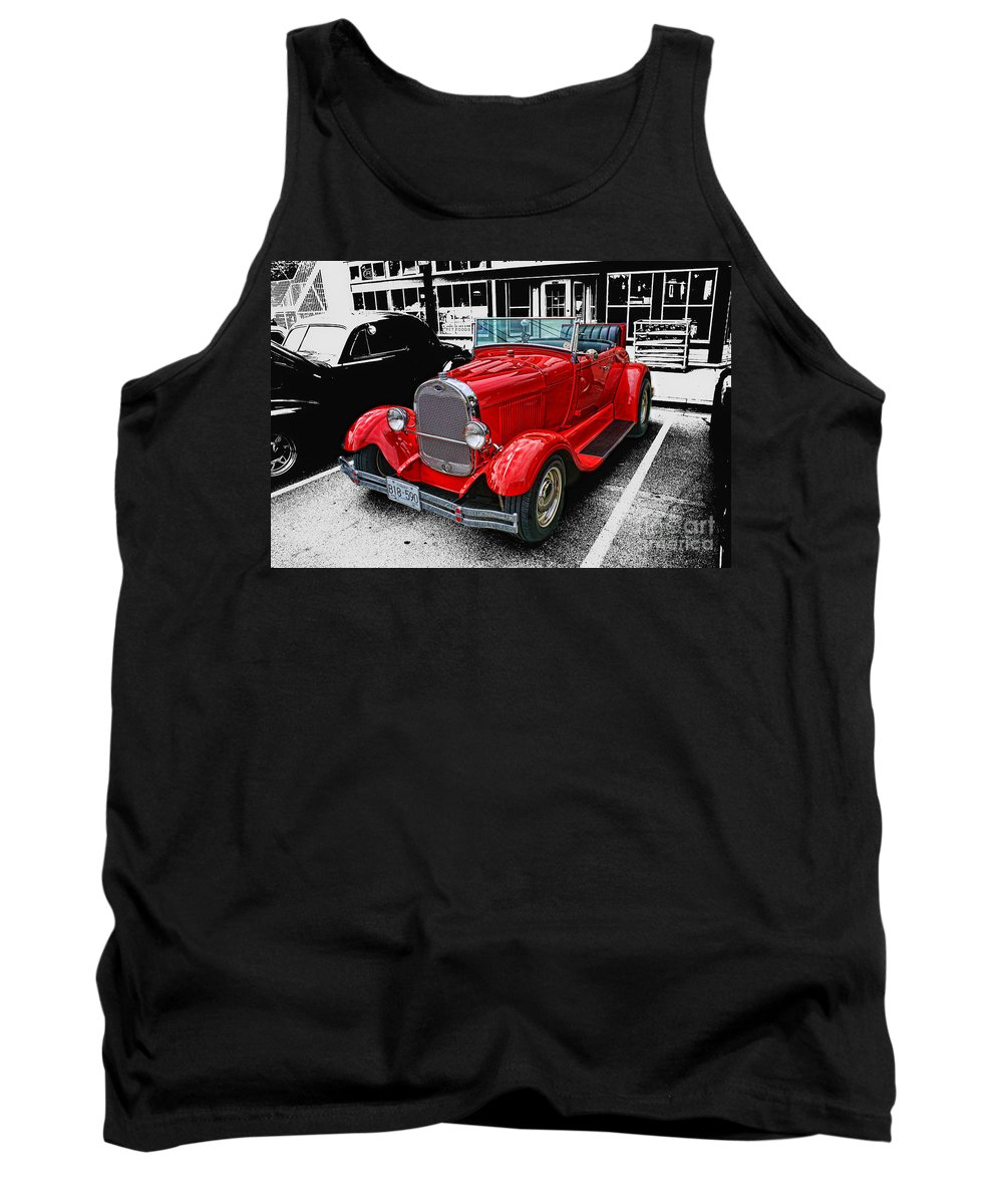 Cars Tank Top featuring the photograph Cadp1044-12 by Randy Harris