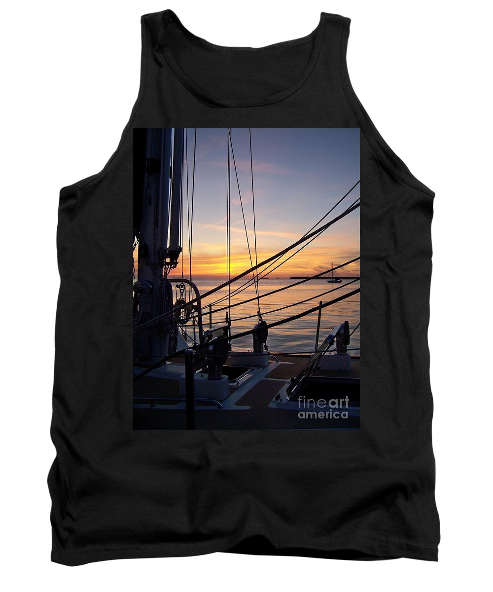 Romantic Tank Top featuring the photograph Call It A Day by Greg Hammond
