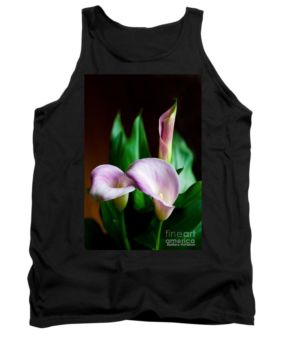 Flowers Tank Top featuring the photograph Calla Lily by Barbara McMahon