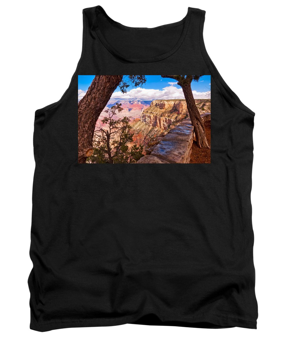 Grand Canyon Tank Top featuring the photograph Canyon View IIi by Jon Berghoff