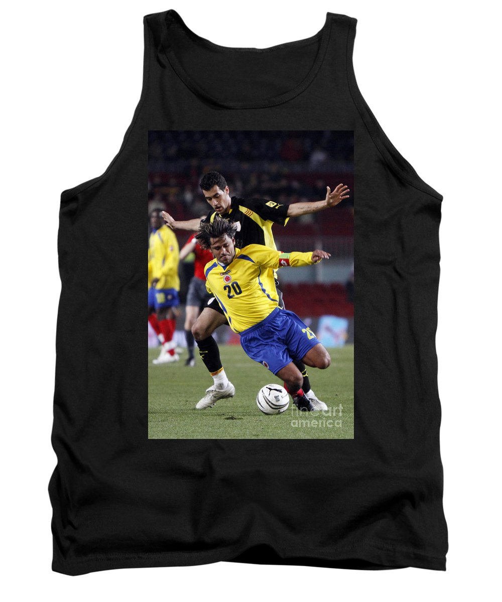 Carlos Tank Top featuring the photograph Carlos Busquets 3 by Agusti Pardo Rossello