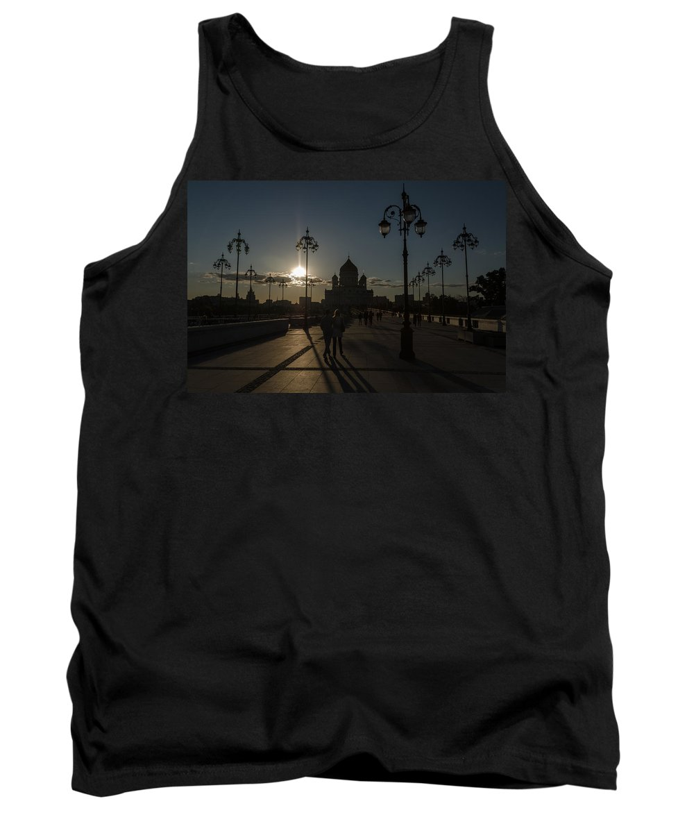 Church Tank Top featuring the photograph Cathedral Of Christ The Saviour by Michael Goyberg