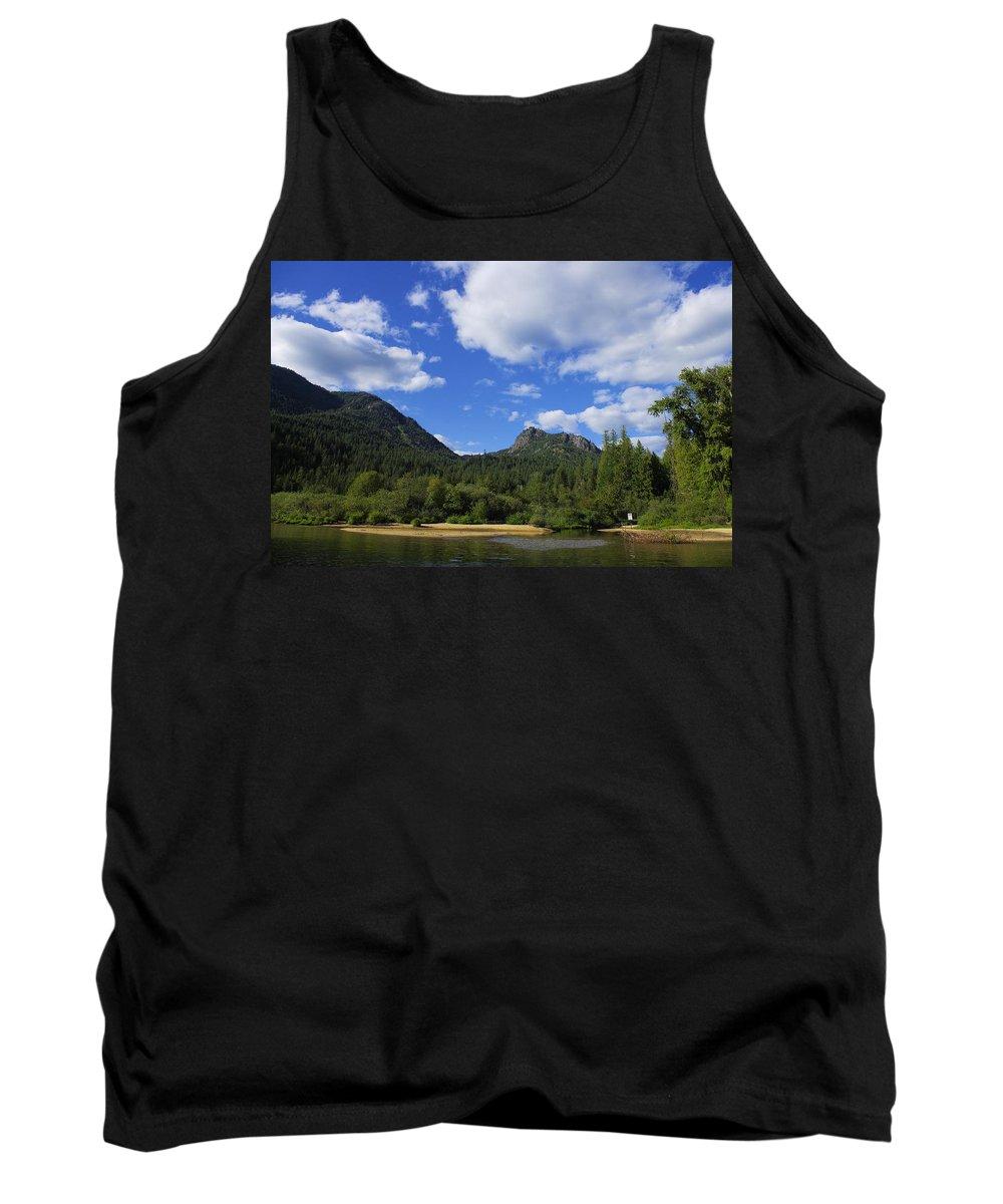 Christina Lake Tank Top featuring the photograph Christina Lake - North End Of The Lake by John Greaves