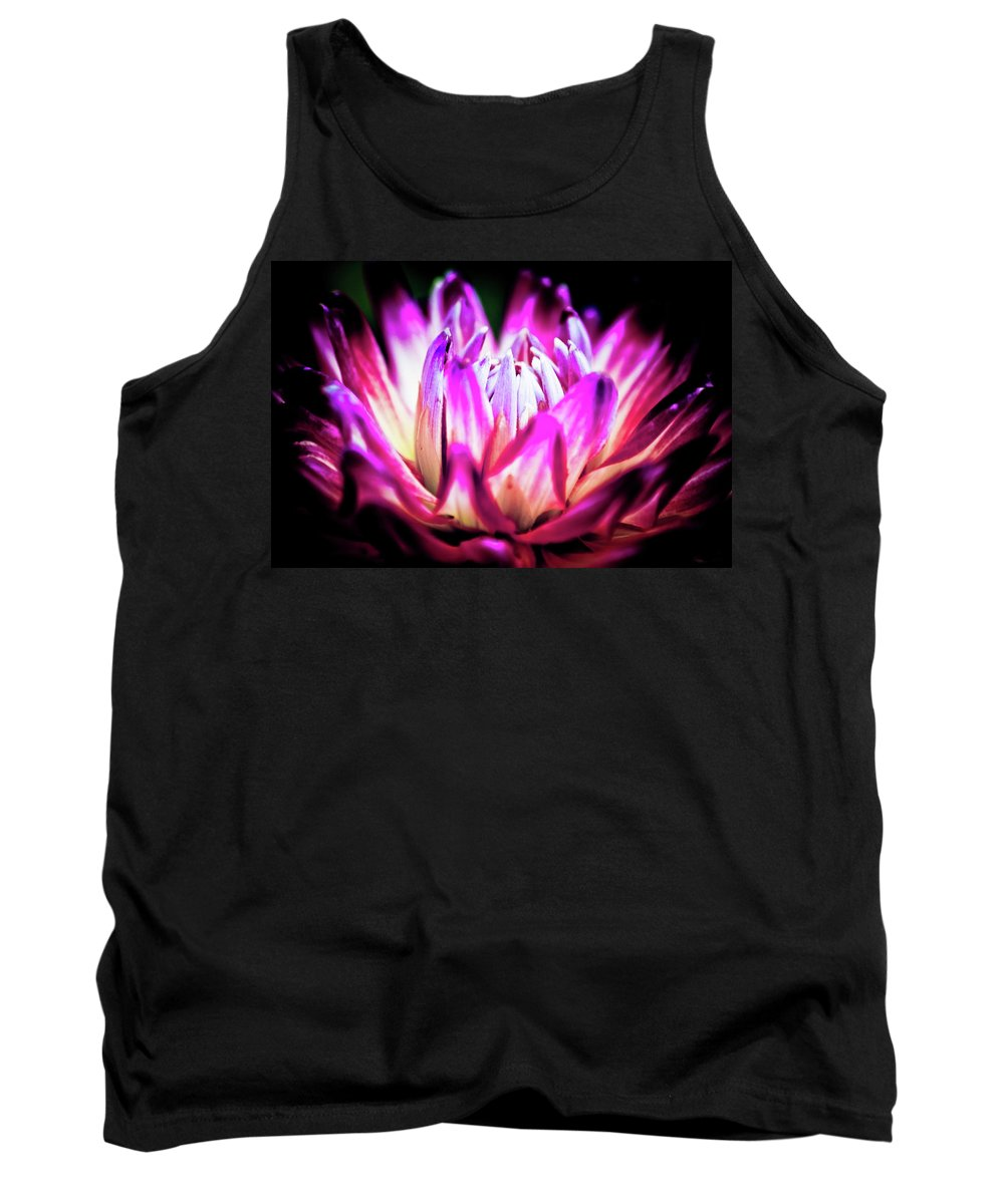 Flower Petals Tank Top featuring the photograph Chrysis by Sarah Wiggins