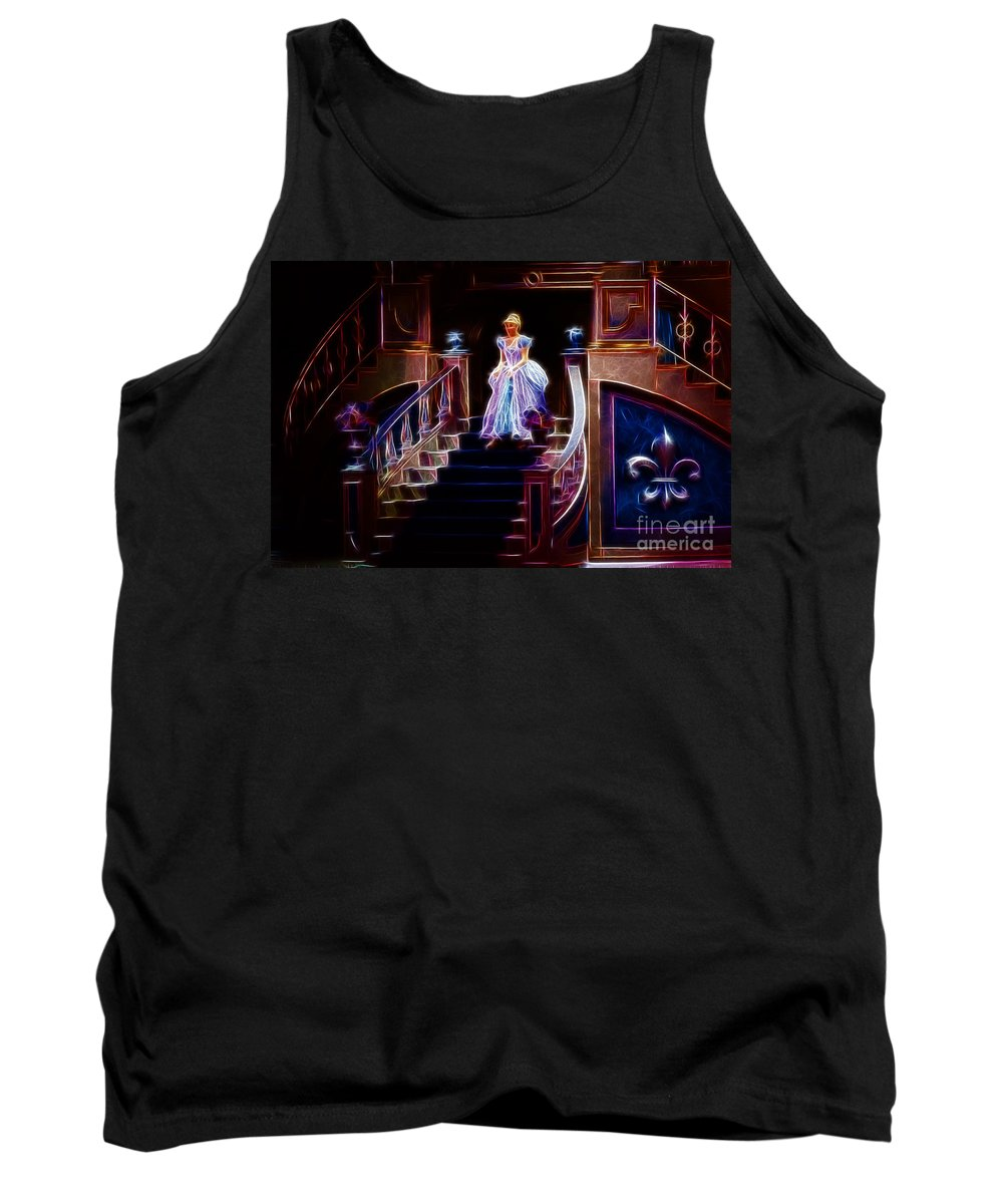 Cinderella Tank Top featuring the photograph Cinderella Enters The Ball by Darleen Stry