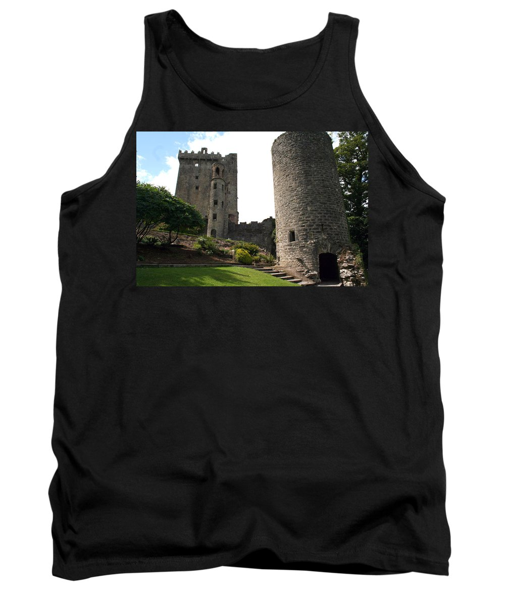 Blarney Castle Tank Top featuring the photograph City 0023 by Carol Ann Thomas
