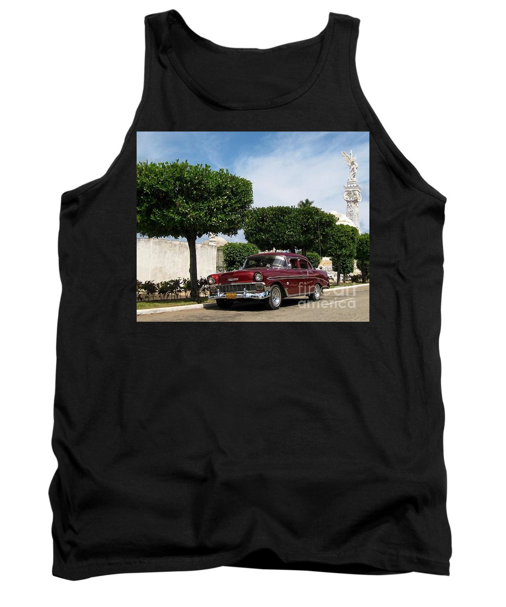 Car Tank Top featuring the photograph Classic One by John Malone