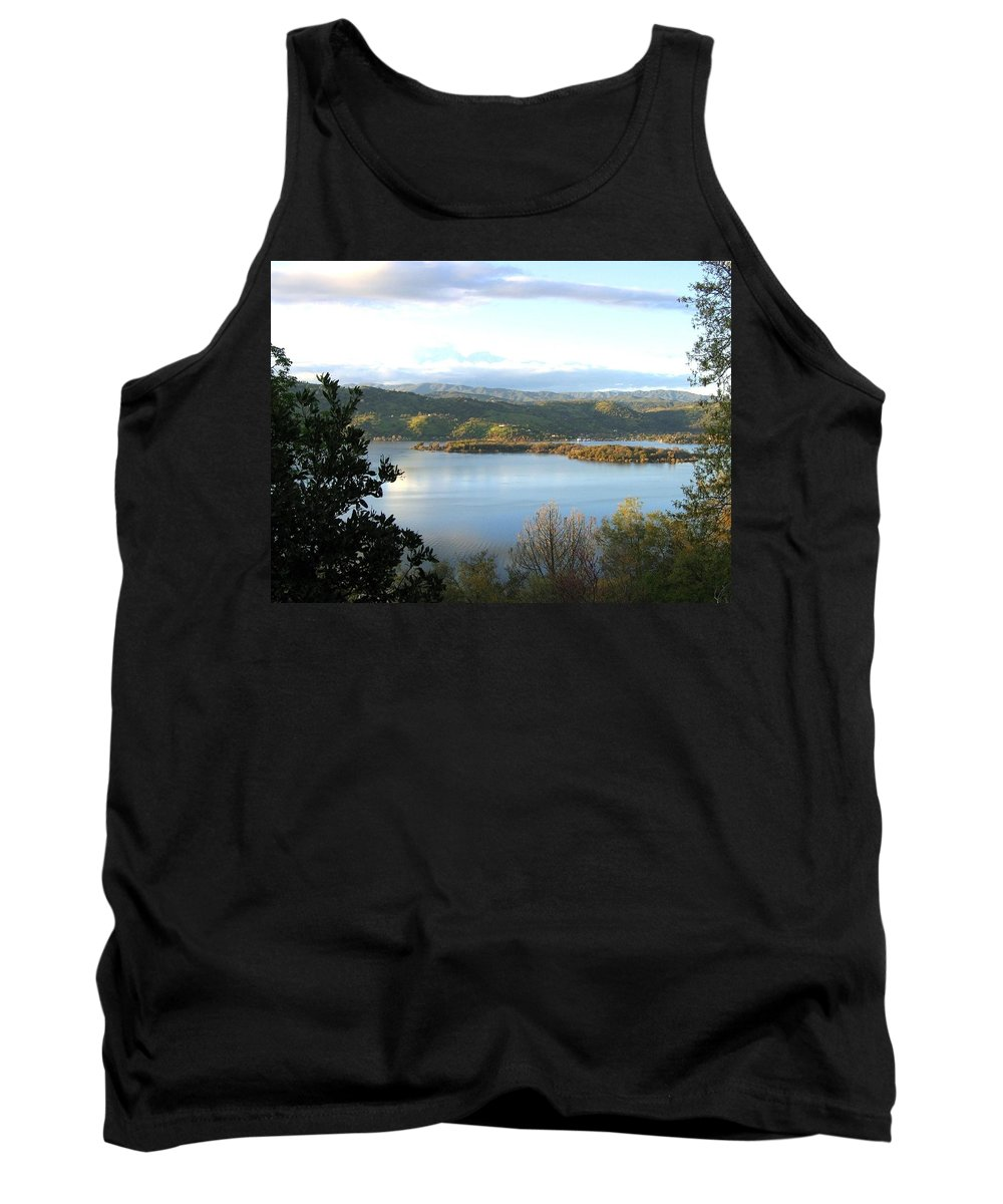 Clear Lake Tank Top featuring the photograph Clear Lake California 2 by Will Borden