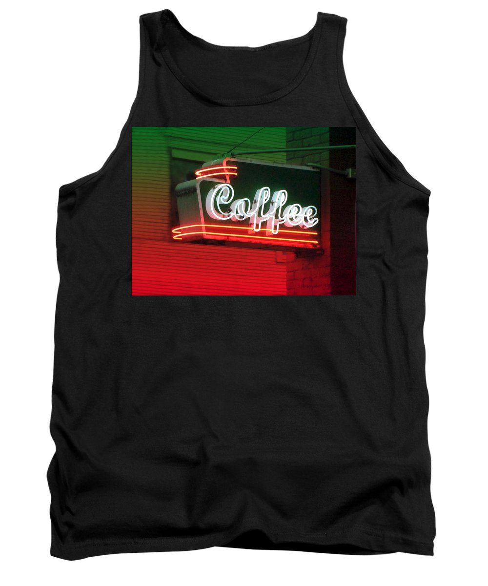 Coffee Tank Top featuring the photograph Coffee by Kathleen Grace