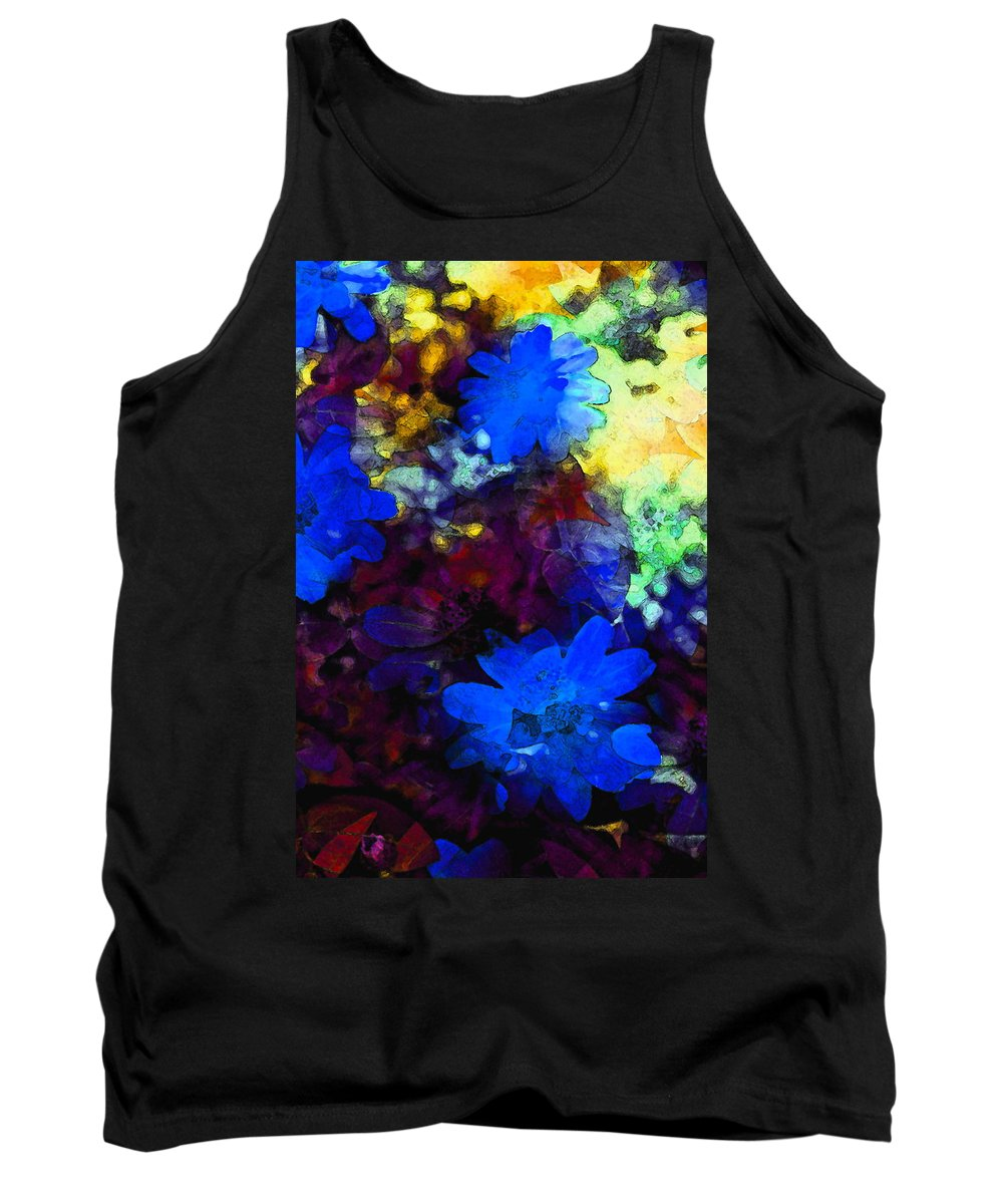 Floral Tank Top featuring the photograph Color 109 by Pamela Cooper