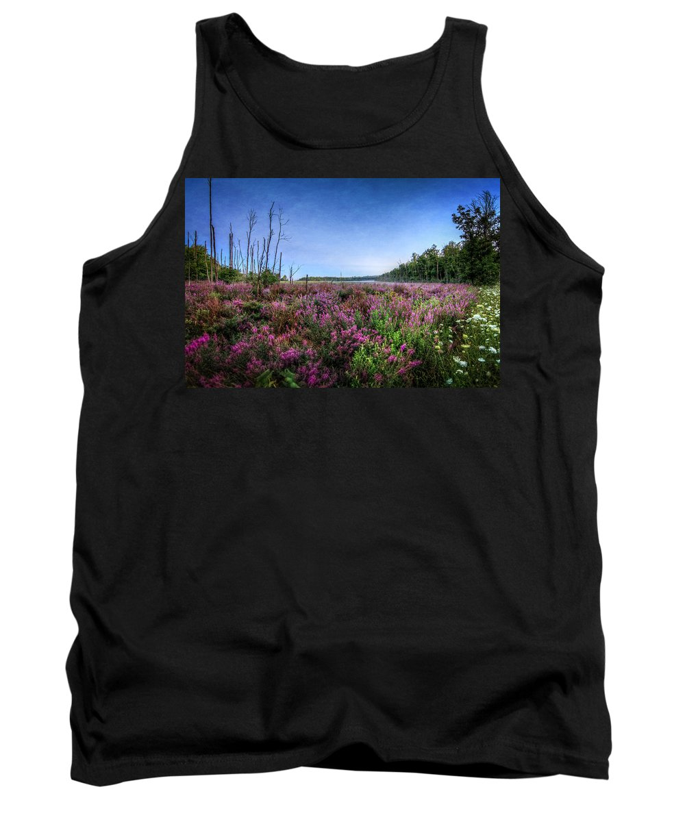Swamp Tank Top featuring the photograph Color Of Summer by Everet Regal