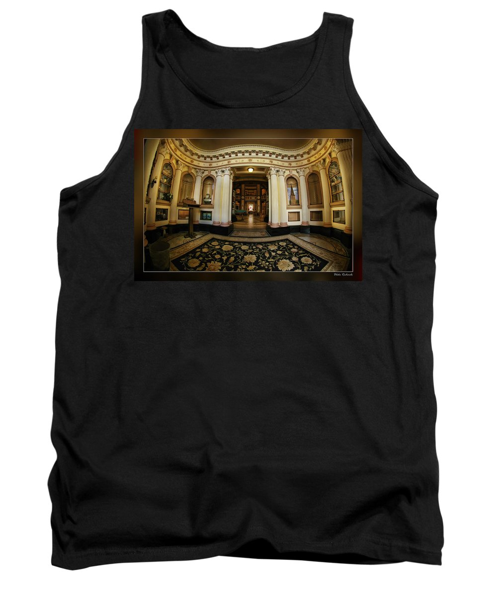 Art Photography Tank Top featuring the photograph Colvmbarivm Entrance by Blake Richards