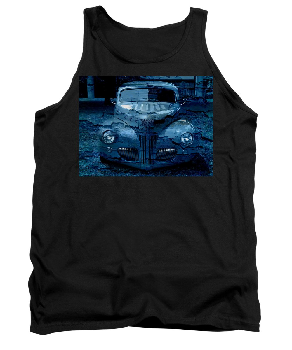 Classic Tank Top featuring the digital art Cool Classic by Teri Schuster