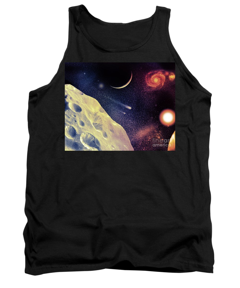 Tank Top featuring the digital art Cos 36 by Taylor Webb