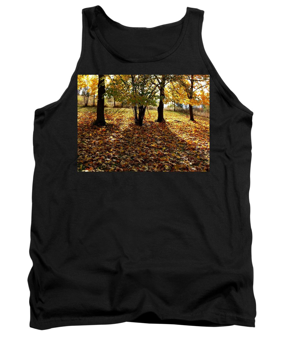 Autumn Tank Top featuring the photograph Country Color 11 by Will Borden