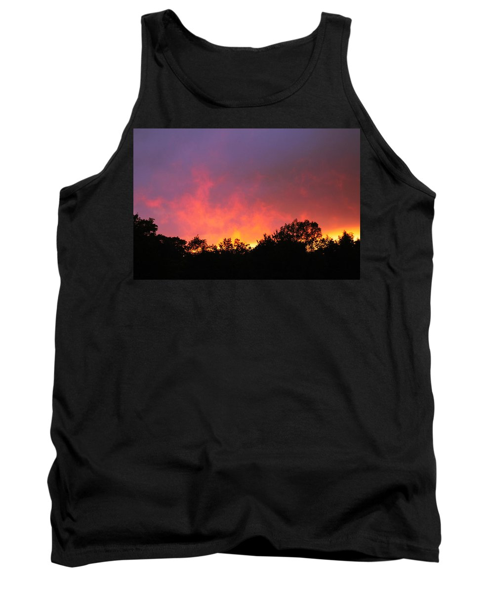 Sunset Tank Top featuring the photograph Crepuscule by Bruce Patrick Smith
