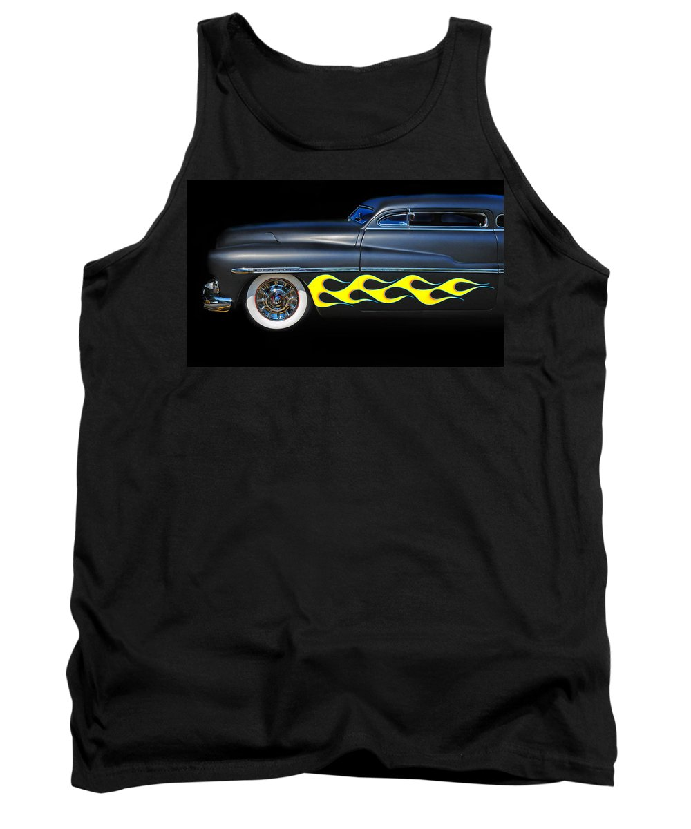 Mercury Tank Top featuring the photograph Custom Mercury by Dave Mills
