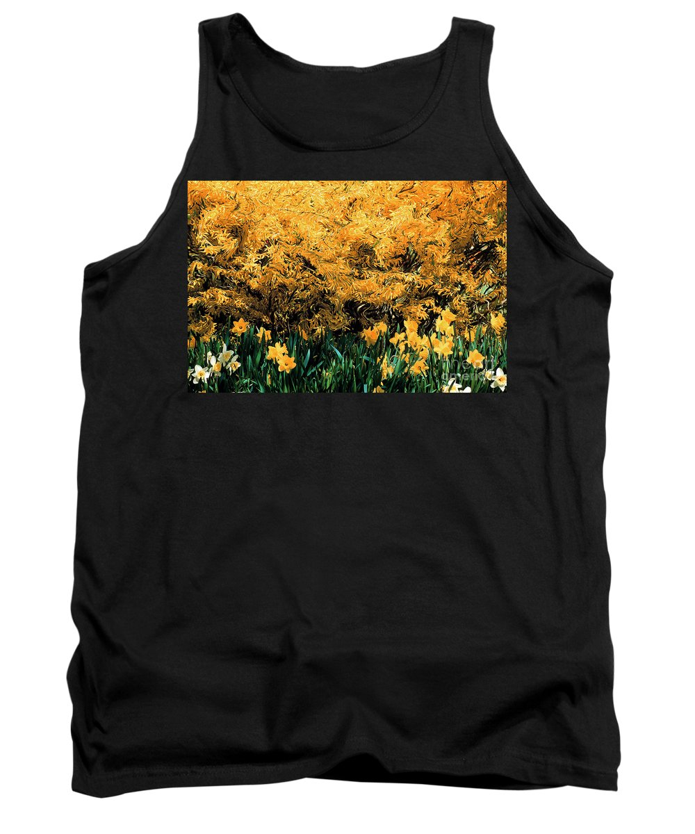 Spring Tank Top featuring the photograph Dali Spring 1 by Mike Nellums